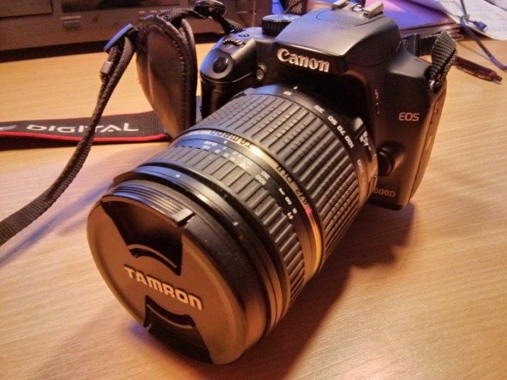 Canon EOS 1000 D + Tamron 18-270 DI 2 VC