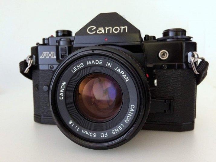Canon A-1, Canon FDn 50/1.8