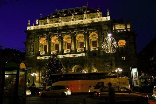 Budova Opery, Budapešť